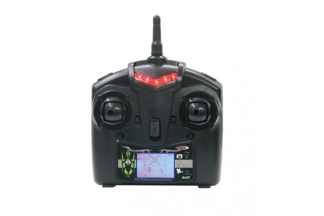 jamara rc quadrocopter flyscout ahp mit kompass led kamera 038540 rc modelle helikopter. Black Bedroom Furniture Sets. Home Design Ideas