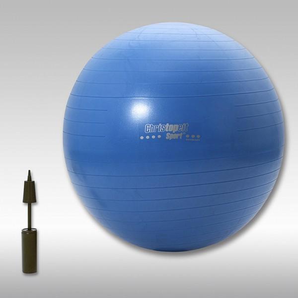 christopeit gymnastikball 75 cm inkl pumpe gymnastik. Black Bedroom Furniture Sets. Home Design Ideas
