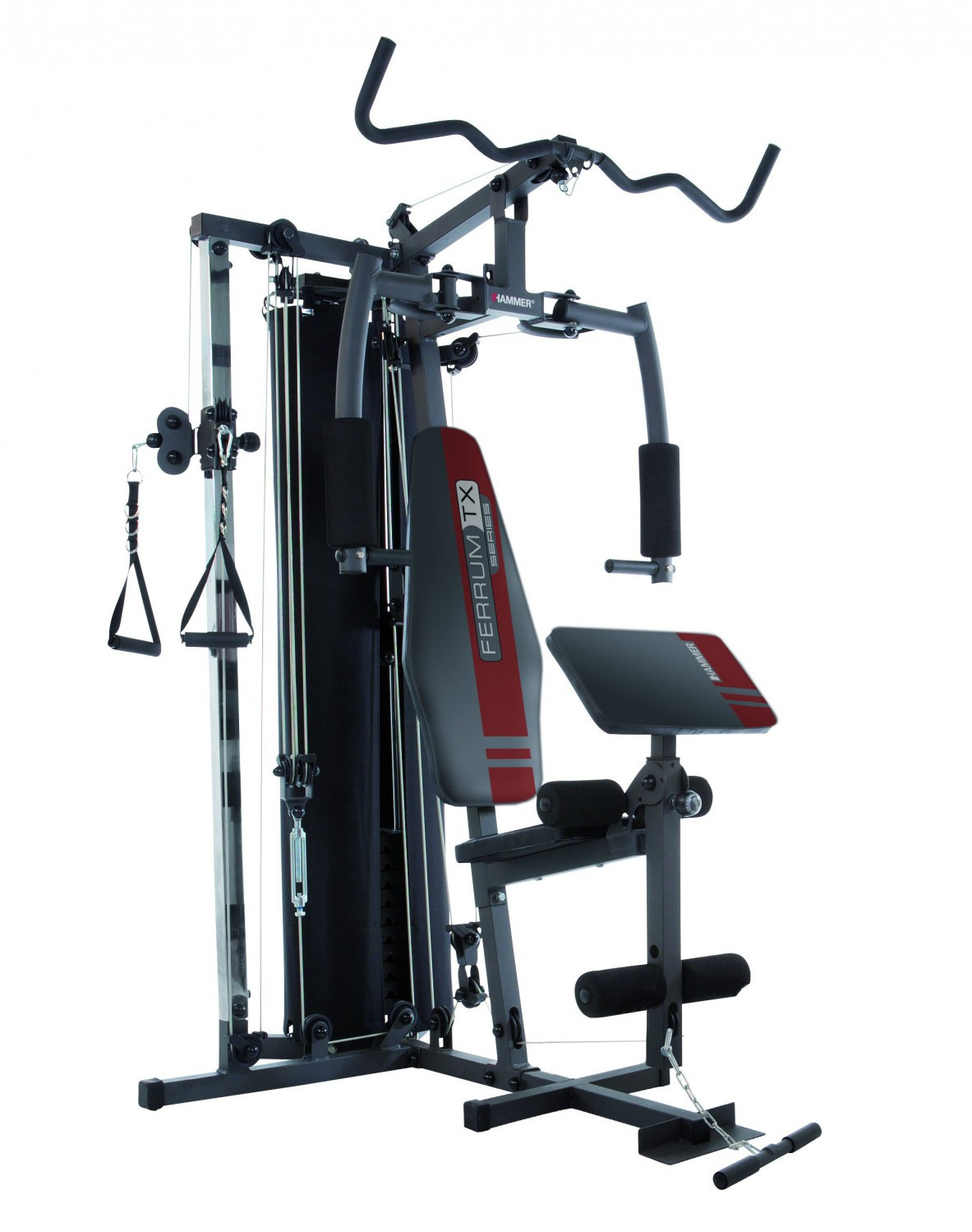 hammer kraftstation ferrum tx 2 fitnessstation fitnessturm kraftstation multigym ebay. Black Bedroom Furniture Sets. Home Design Ideas