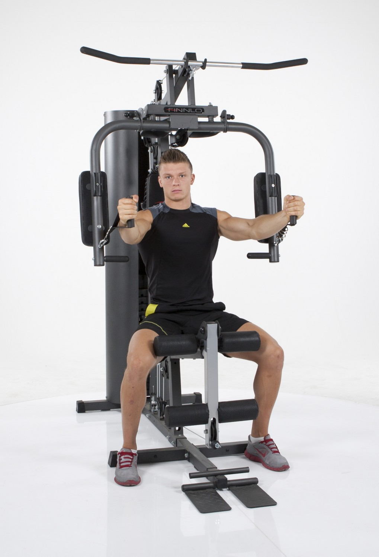 finnlo kraftstation autark 600 home gym kraftturm multi fitness station 3929 ebay. Black Bedroom Furniture Sets. Home Design Ideas