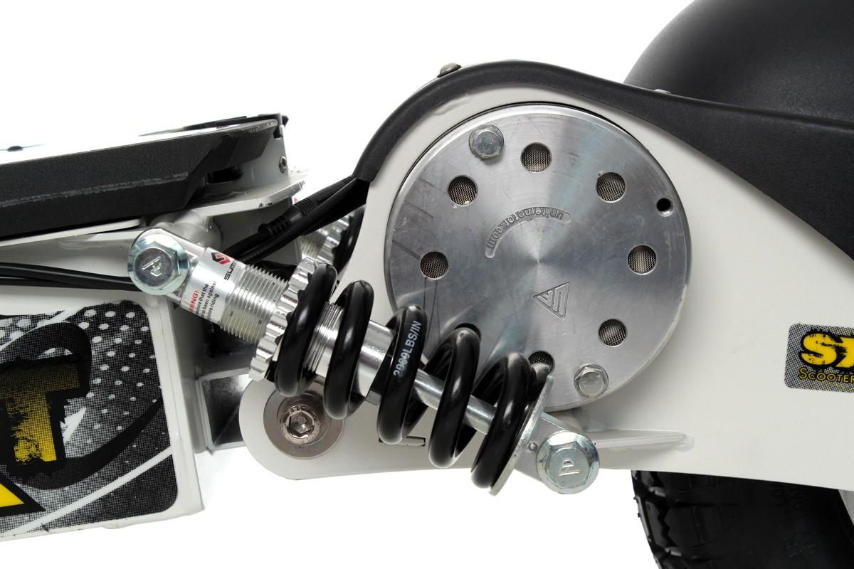 sxt1000 turbo elektro scooter weiss elektroroller 36v 12ah. Black Bedroom Furniture Sets. Home Design Ideas