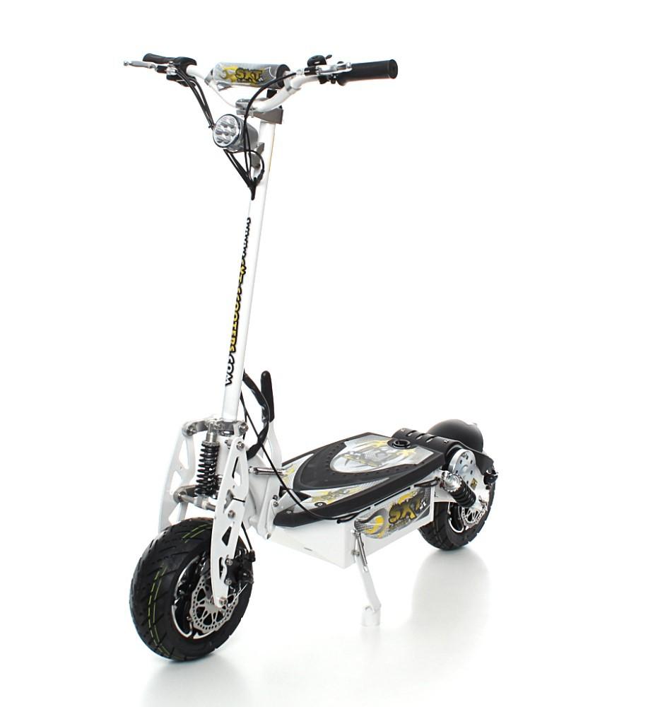 sxt1600 xl elektro scooter weiss elektroroller bis 55 km h. Black Bedroom Furniture Sets. Home Design Ideas