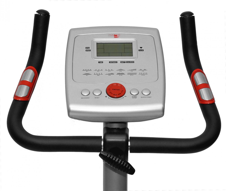 christopeit ergometer bt 2 heimtrainer hometrainer cardio fitness trainer 1205 ebay. Black Bedroom Furniture Sets. Home Design Ideas
