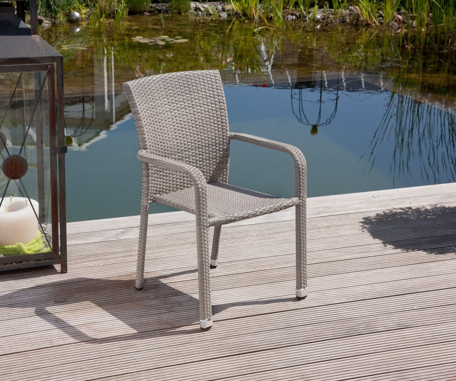 Polyrattan sitzgruppe manila 7 teilig greemotion rattan for Greemotion gartenmobel